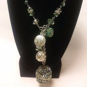 Ole Crystal Bead Necklace